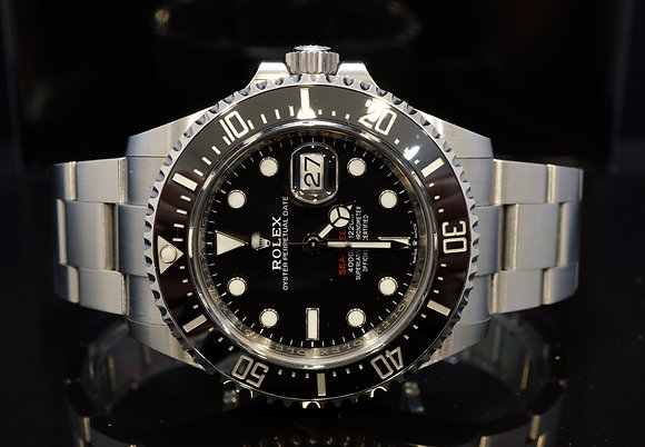 ROLEX 2019 Sea-Dwelelr SD43, 126600, Steel, Partially Stickered, Box & Papers