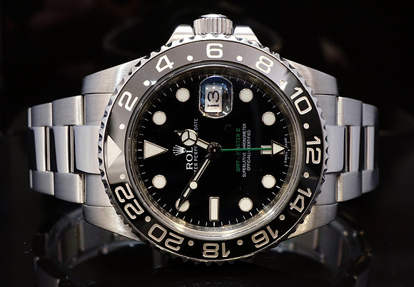 ROLEX 2011+ GMT Master 2, Steel, 116710LN, Boxed