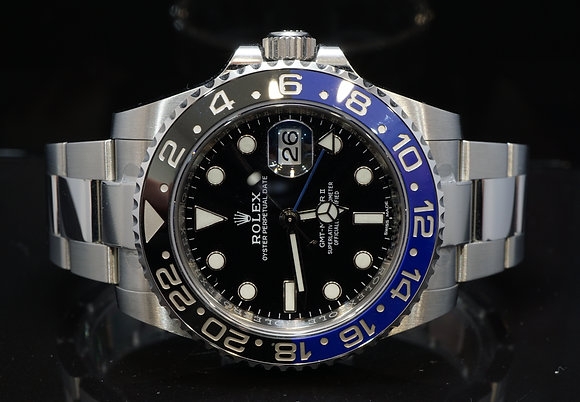 "ROLEX 2019 GMT Master II ""BATMAN"", 116710BLNR, Box & Papers"