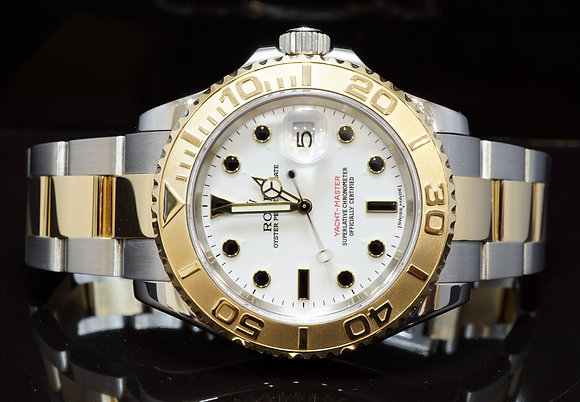 ROLEX 2007 40mm Yacht-Master, Steel & Gold,  16623, Box & Papers