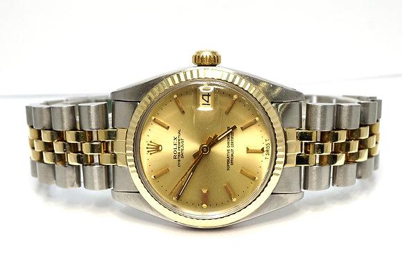 ROLEX 1979 Datejust 31, 6827, Steel & Gold, Jubilee Bracelet, Boxed