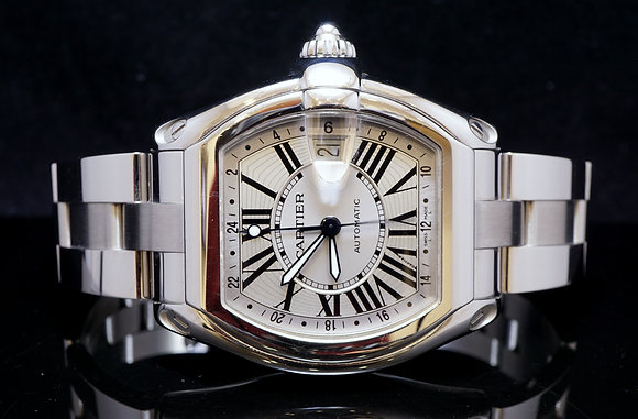 CARTIER Roadster XL GMT 2003, Box & Papers