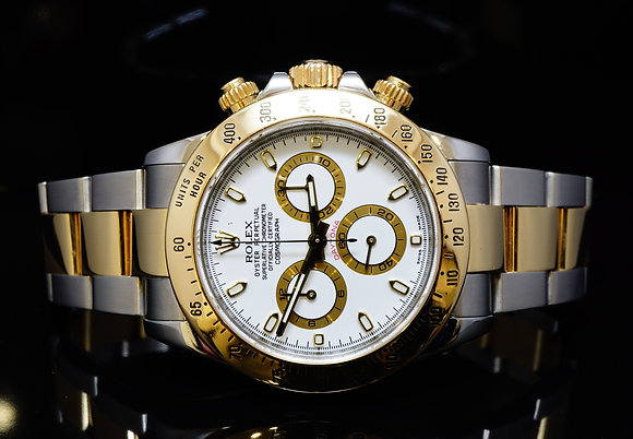 ROLEX 2009, Steel & Gold Daytona, 116523, MINT, Boxed