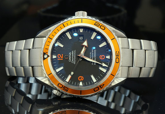 OMEGA 2008 Planet Ocean, 45.5mm, 22085000, MINT, Box & Papers