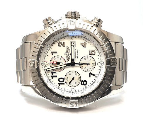 BREITLING 2008 Super Avenger, A13370, 48mm Case, Box & Papers