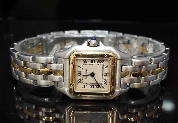 CARTIER Panthere Ladies, Steel & Gold,