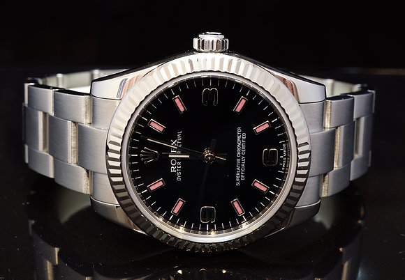 ROLEX 2015 31mm Oyster Perpetual, MINT, 177234, Box & Papers