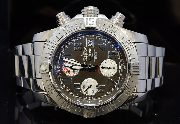 BREITLING 2009 Super Avenger 2, A1338111, Steel, Box & Papers