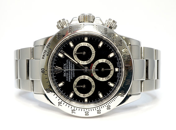 ROLEX 2010 Daytona, 116520, Stainless Steel, Box & Papers