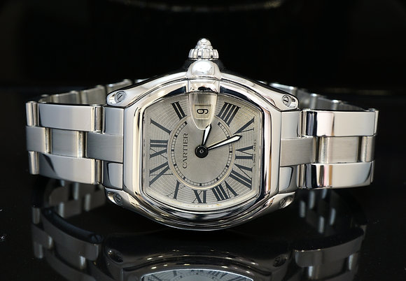 CARTIER Ladies Roadster, W62016V3, MINT, Boxed