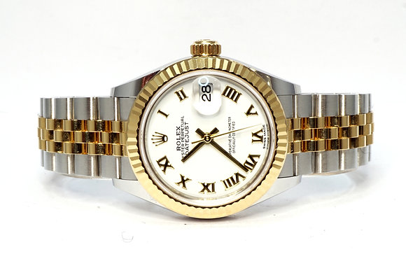 ROLEX 2020 Datejust 28, 279173, Steel & Gold, Jubilee, Box & Papers
