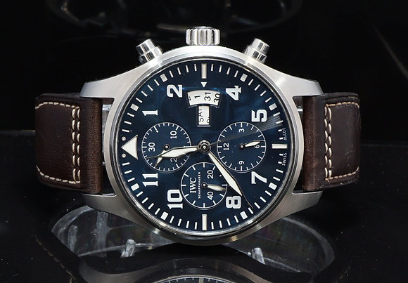 IWC 2015 Pilots Chronograph, Le Petit Prince, IW377706, Box & Papers