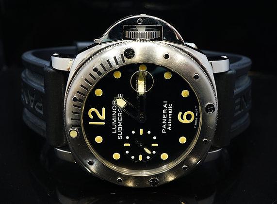 PANERAI 2003 Submersible, 44mm Luminor, PAM00024, Box & Papers