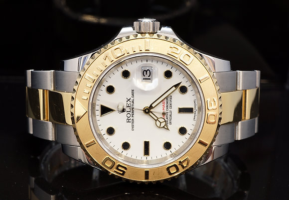 ROLEX 2014 Yacht-Master 40, Steel & Gold, 16623, Box & Papers