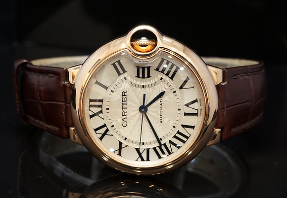 CARTIER 2013 36mm Ballon Bleu, 18ct Rose Gold, Automatic,W6900456