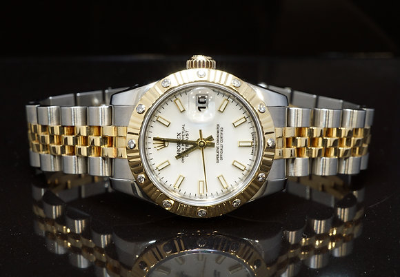 ROLEX 2005 26mm Datejust, Steel & Gold, 179313, MINT, Boxed