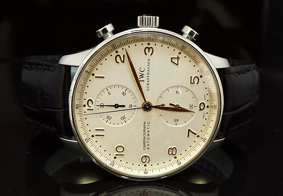 IWC 2003 Portugieser Chronograph, IW371401, Box & Papers