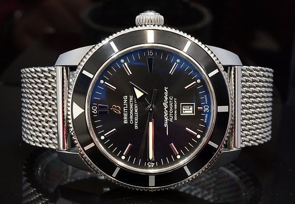 BREITLING 2016 46mm Superocean Heritage, Auto, A1732024, Box & Papers