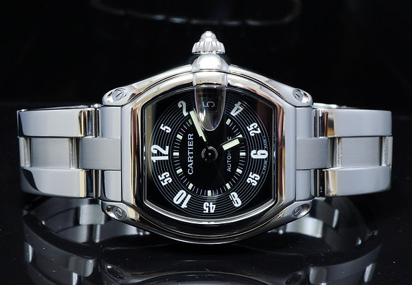 CARTIER, 2003, Roadster Auto, 2510, MINT, Box & Papers