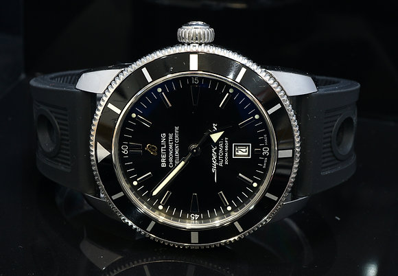 BREITLING 2016 SuperOcean Heritage 46, Auto, A1732024, Box & Papers