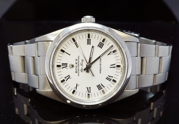 ROLEX 1993 34mm Air-King, 14000, MINT, Boxed