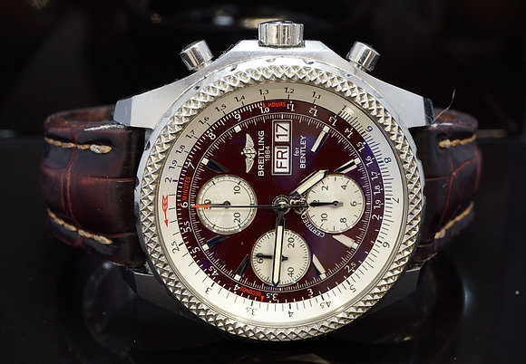 BREITLING 45mm Bentley GT, Auto, Chronograph, A13362