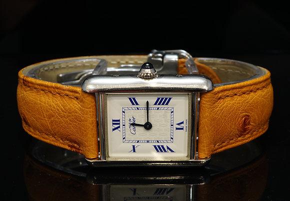 CARTIER Must de Cartier, Sterling Silver, 2416, Excellent Condition