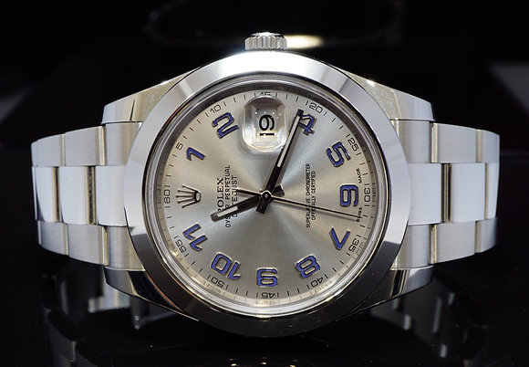 ROLEX 2016 41mm Datejust 2, 116300, MINT, Box & Papers
