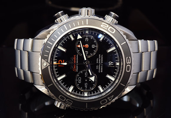 OMEGA 2012 45.5mm Planet Ocean Chrono, 232.30.46.51.01.003, MINT, Box& Papers