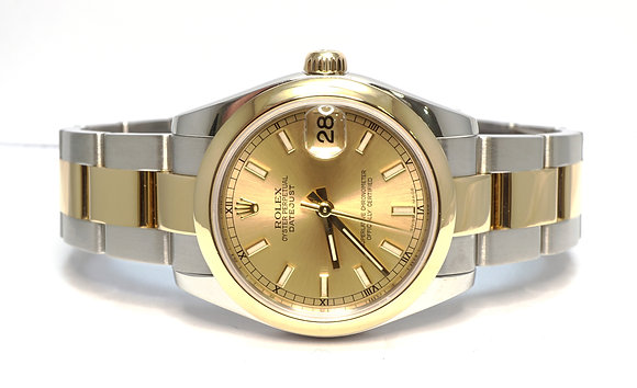 ROLEX 2006 Datejust 31, 178243, Steel & Gold, Oyster Bracelet, Box & Papers