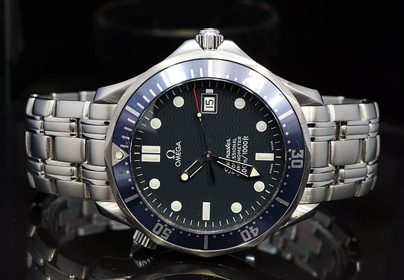 OMEGA 2005 Seamaster, 25318000, Automatic, Box & Papers, Serviced