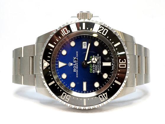 ROLEX 2021 Deepsea James Cameron, 126660, D-Blue, Box & Papers