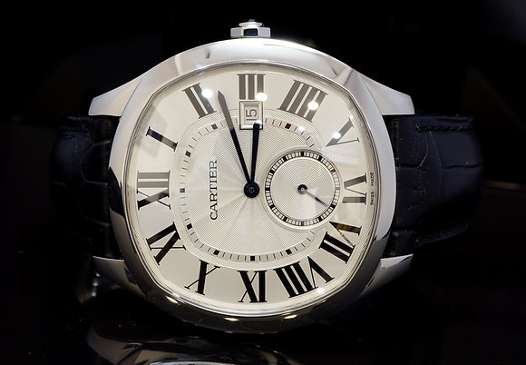 CARTIER 2016 Drive de Cartier, Steel, Mechanicl, WSNM004, Box & Papers