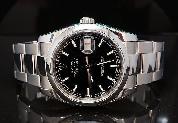 ROLEX 2013 Datejust, 116200, Serviced by Rolex 2018, Box & Papers