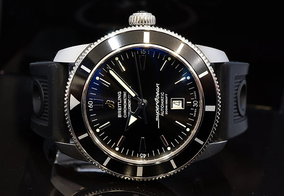 BREITLING 2013 Super Ocean heritage 46, Steel, Auto, A17320, MINT, Box & Papers