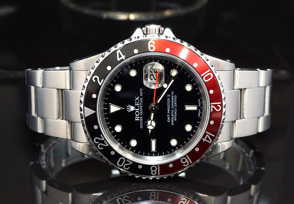 "ROLEX 2004 GMT Master II ""Coke"", 16710, Box & Papers"