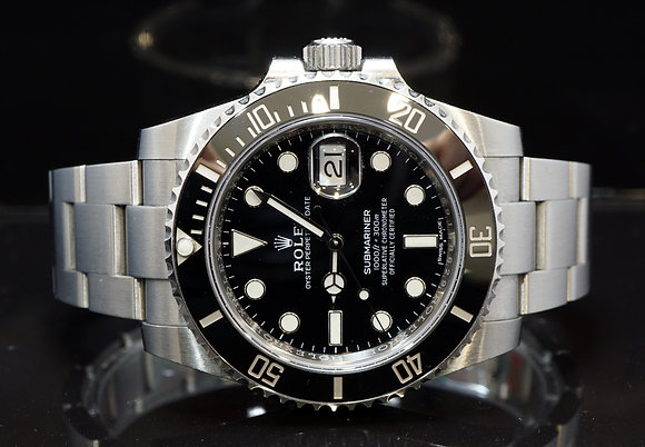 ROLEX 2018 Submariner Date, 116610LN, Partially Stickered, Box & Papers