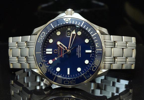 OMEGA 2016 Seamaster 300m, Ceramic Bezel, 21230412003001, MINT, Box & Papers