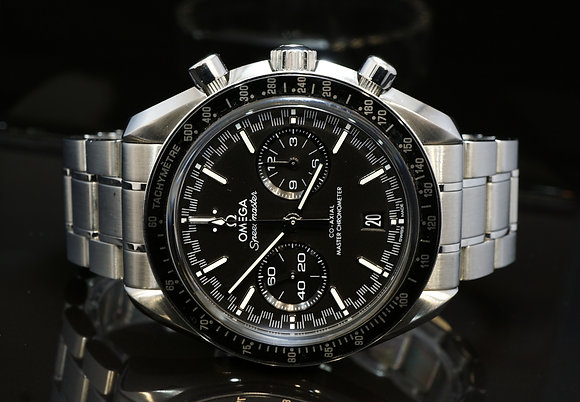 OMEGA 2019 Speedmaster Racing Co Axial, 32930445101001, Box & Papers