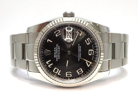 ROLEX 2010 Datejust 36, 116234, Oyster Bracelet. Box & Papers