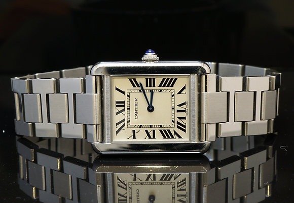 CARTIER Tank Solo, 2010, Box & Papers