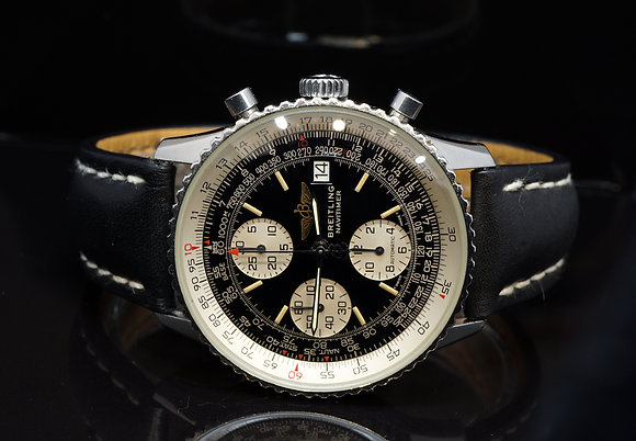 BREITLING 1994 Old Navitimer II, A13022, Steel, Box & Papers