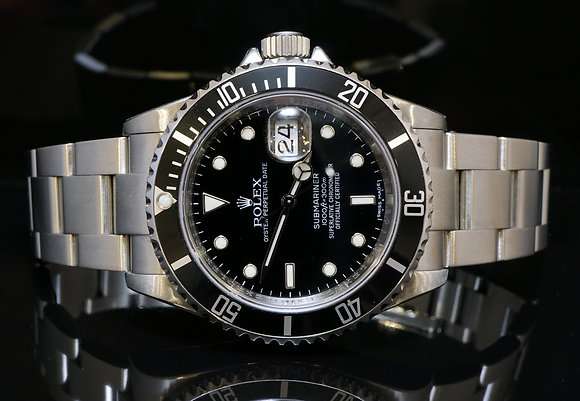 ROLEX 2009 Submariner, 16610, MINT, Box & Papers