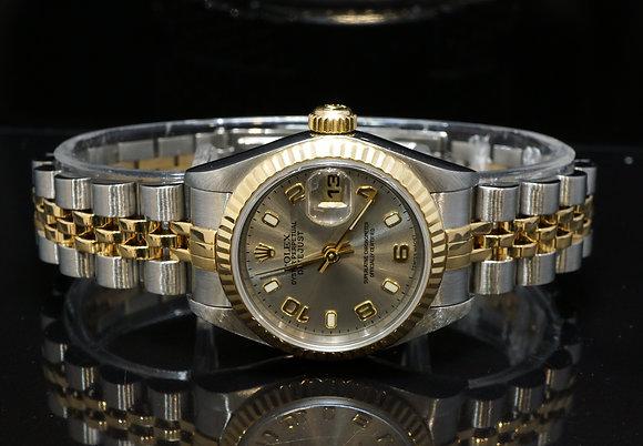 ROLEX 2000 26mm Datejust, Steel & Gold, 69173