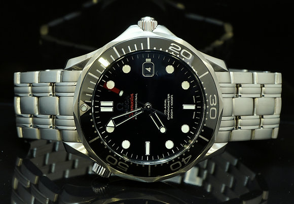 OMEGA Seamaster, Co-Axial, 41mm, As NEW, Box & Papers