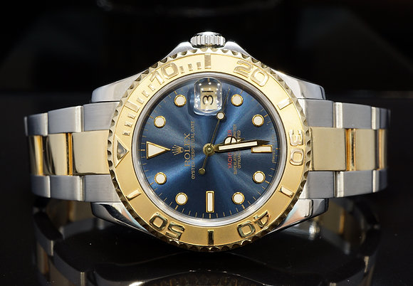 ROLEX 1997 35mm Yacht-Master, Steel & Gold, 68623, MINT, Box & Papers