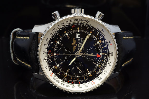 BREITLING 2009 Navitimer World, A24322, Box & Papers