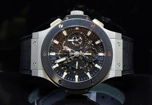 HUBLOT Big Bang Aero Skeleton Auto Watch , 311.SM.1170.GR, Box & Papers