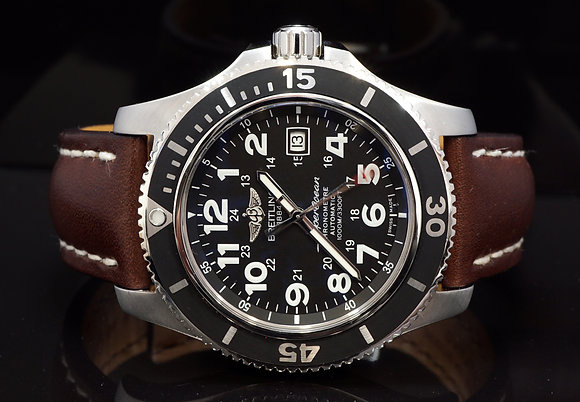 BREITLING 2016 SuperOcean II, A17392, Extra Strap & Clasp