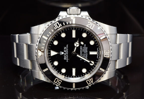 ROLEX 2016 Submariner Non Date, 114060, Box & Papers